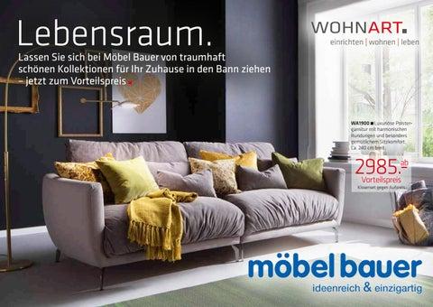 Möbel Bauer Freudenburg möbel bauer wohnart katalog 2016 by m7 markenpflege issuu
