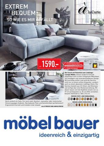 Möbel Bauer Polstermöbel Katalog 2016 By M7 Markenpflege   Issuu