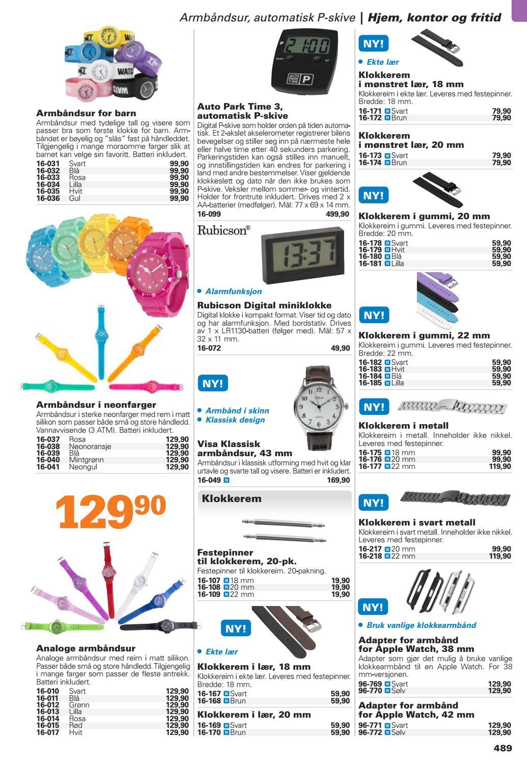 f6de5a6d5 Kjell & Company Katalog 44 Norge - Kapitel 5: Hjem, kontor og fritid ...