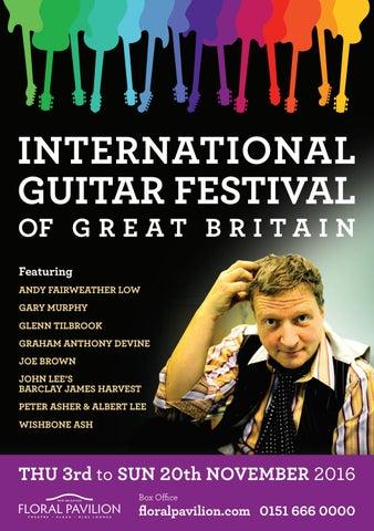 2b4a0832fb78 International Guitar Festival of Great Britain - Nov 2016 by Floral ...