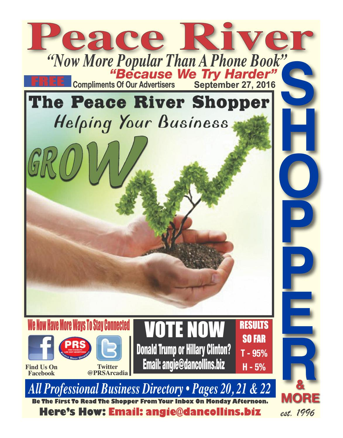 September 27th 2016 Peace River Shopper By