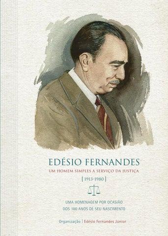 Edésio Fernandes – Um homem simples a serviço da Justiça (1913-1980 ... f8a7e0b95e475