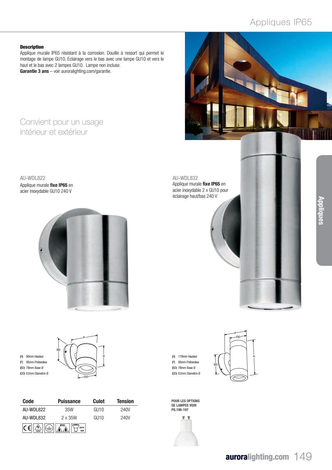 Applique Extérieure Eclairage Haut Et Bas lighting 2 0 trade - franceaurora lighting - issuu