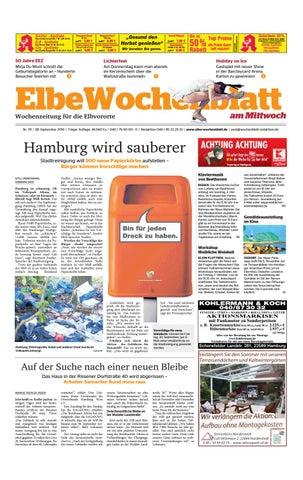 Elbvororte 2016 KW39 2016 Elbvororte by Elbe Wochenblatt Verlagsgesellschaft mbH 4fd2e5