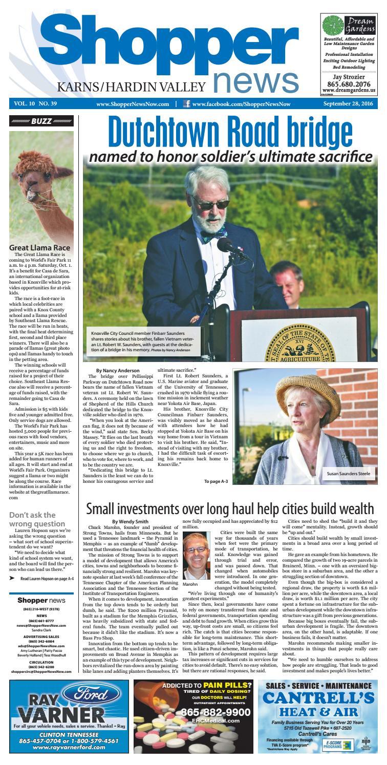 Karns/Hardin Valley Shopper-News 092816 by Shopper-News - issuu