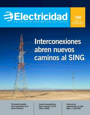 005311c3dd360 199 ISSN 0717-164 octubre 2016   Año 25 www.revistaelectricidad.cl