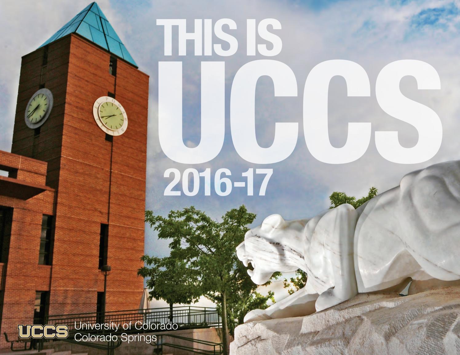 Uccs Fall 2022 Calendar.2016 Uccs Digital Viewbook By Uccs Issuu