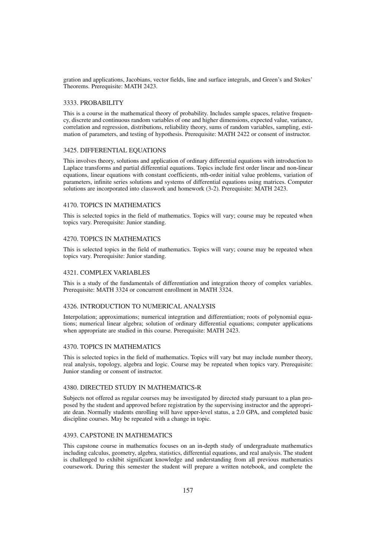 Schreiner University Academic Catalog 2016-2017 by Schreiner