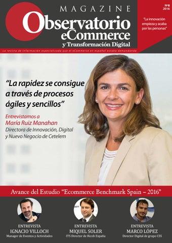 f422facb7e9e6 Nº8 magazine observatorio ecommerce by ObservatorioeCommerce - issuu