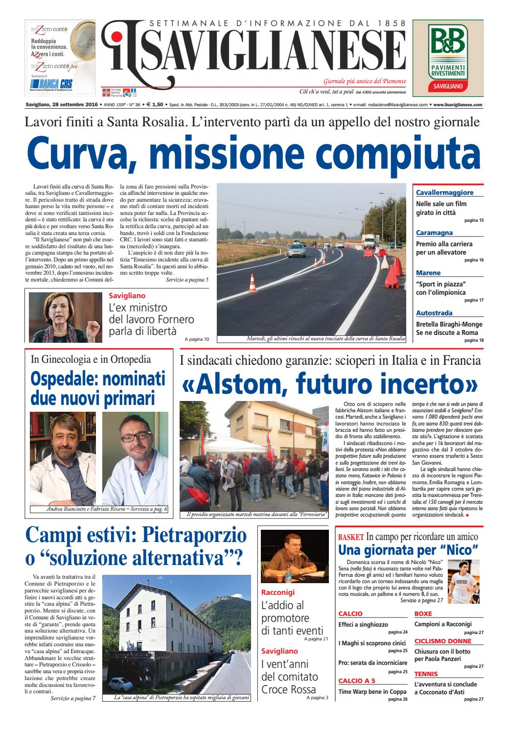 28 9 2016 by Valerio Maccagno - issuu 207887a5053