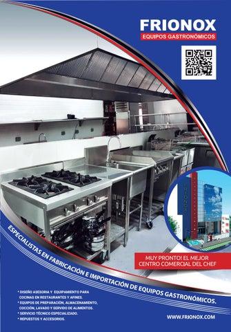 Brochure 2016 frionox by frionox equipos gastronomicos   issuu