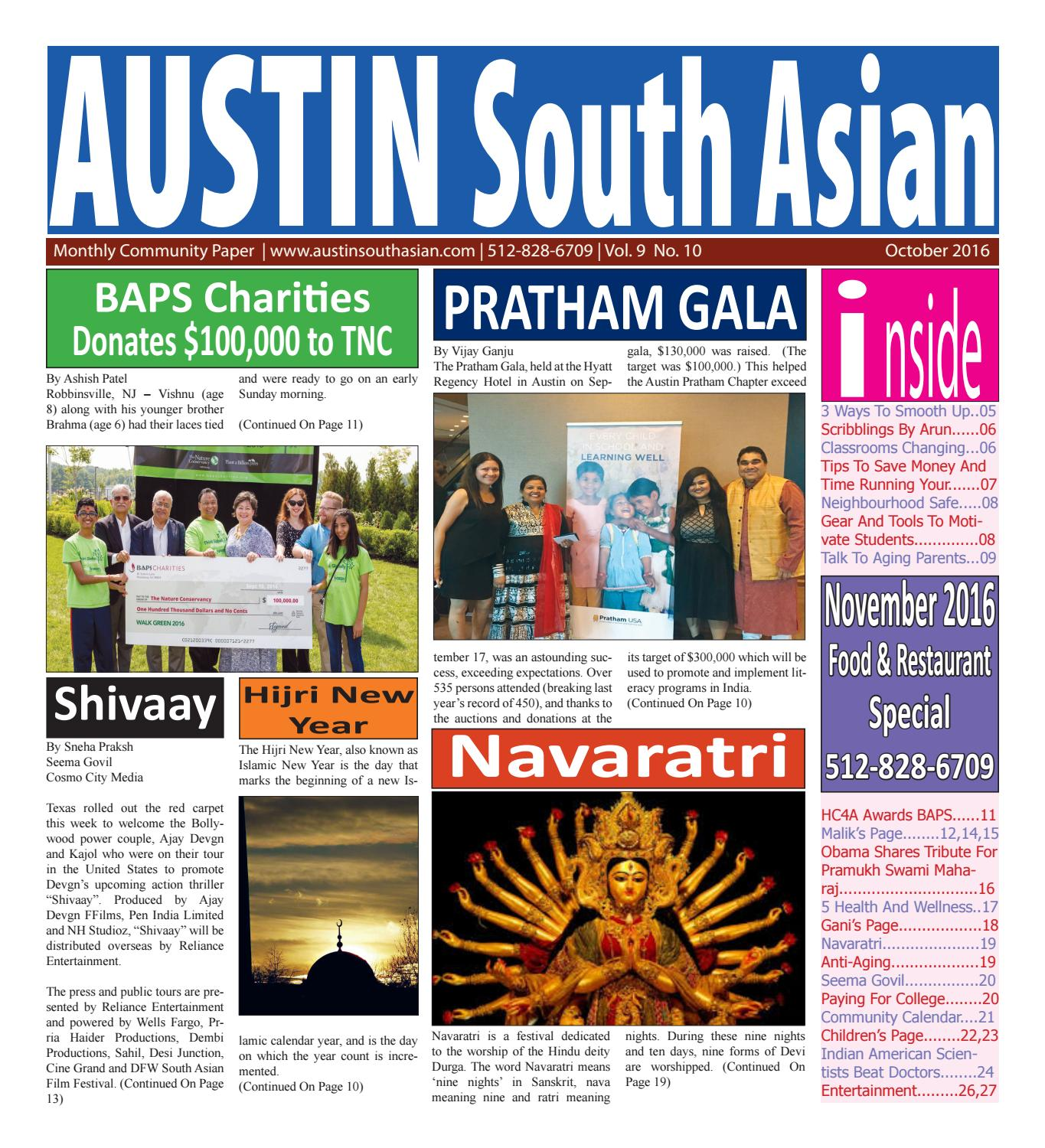 Austin South Asian  Oct  2016 by Austin South Asian - issuu
