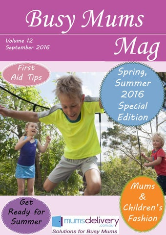 2588d2bb4a BMM Sep Spring Summer 2016 by MumsDelivery - issuu