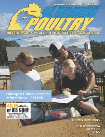 Alabama Poultry, September/October 2015 by Alabama Poultry & Egg