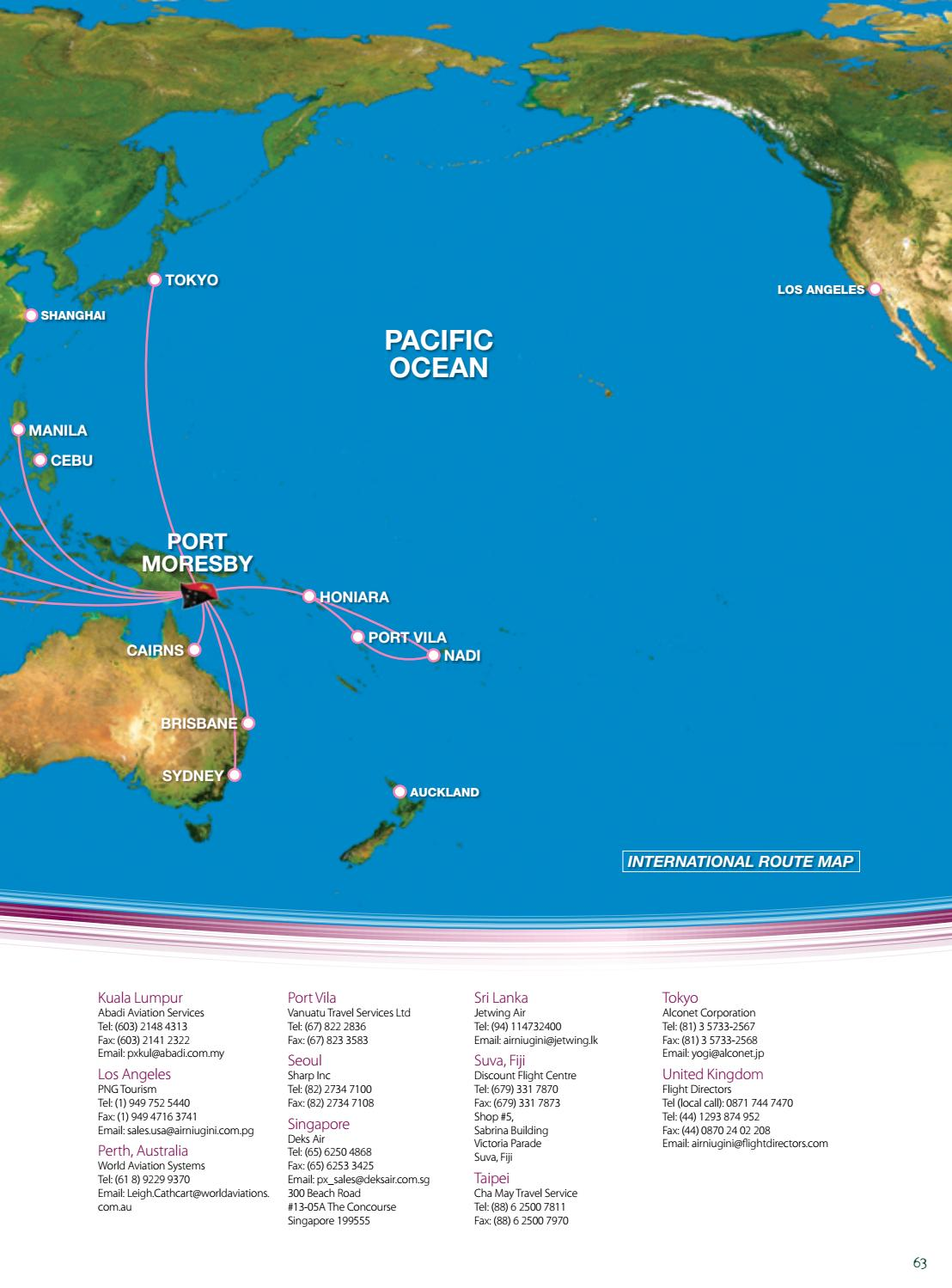 Air Niugini Global Destinations by John Batman Group - issuu