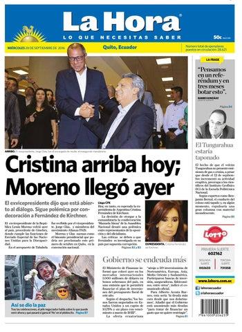 Quito 28 de Septiembre de 2016 by Diario La Hora Ecuador - issuu 82748ddbb410a