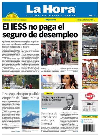 Ambato28septiembre2016 by Diario La Hora Ecuador - issuu 15d957374877e
