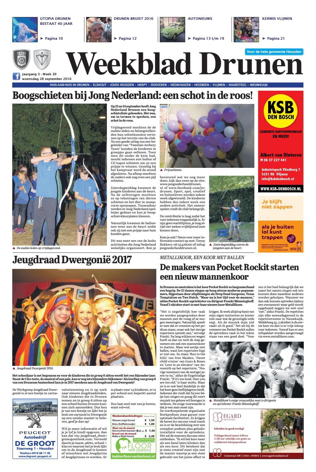 2e Hands Kantoormeubelen Nijkerk.Weekblad Drunen 28 09 2016 By Uitgeverij Em De Jong Issuu