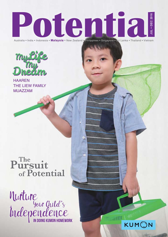 Potential Kumon Malaysia Jul To Dec 2016 By Asia Oceania Creative Doodling Workbooks 2 Books Issuu