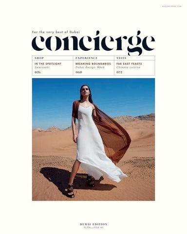 Concierge Dubai October 2016