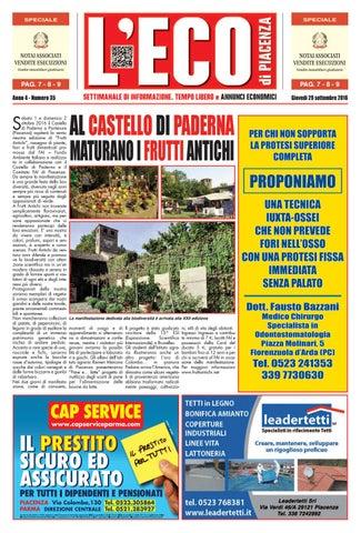 fdbefdc2f9 Eco di Piacenza 29/09/2016 by Eco di Piacenza - issuu
