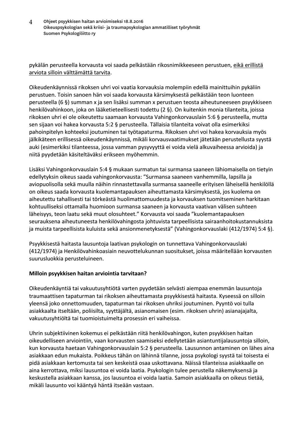 Suomen Psykologiliitto