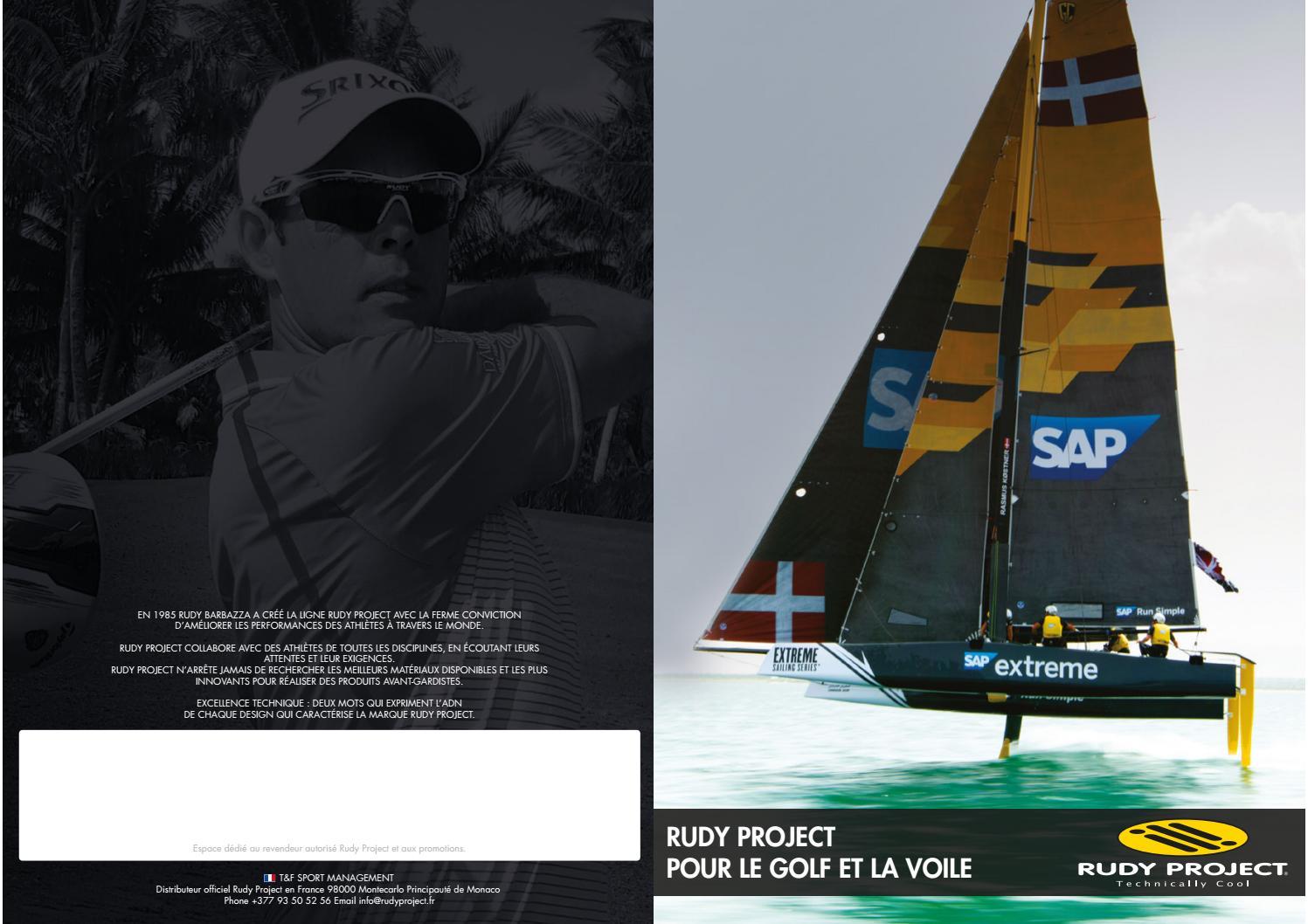 83e53d8376e99 Rudy Project pour le Golf et la Voile by Rudy Project France - issuu