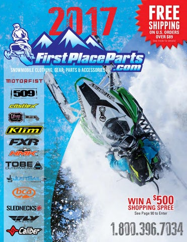 56d5e5c6e6 First Place Parts 2017 Snowmobile Catalog by First Place Parts - issuu