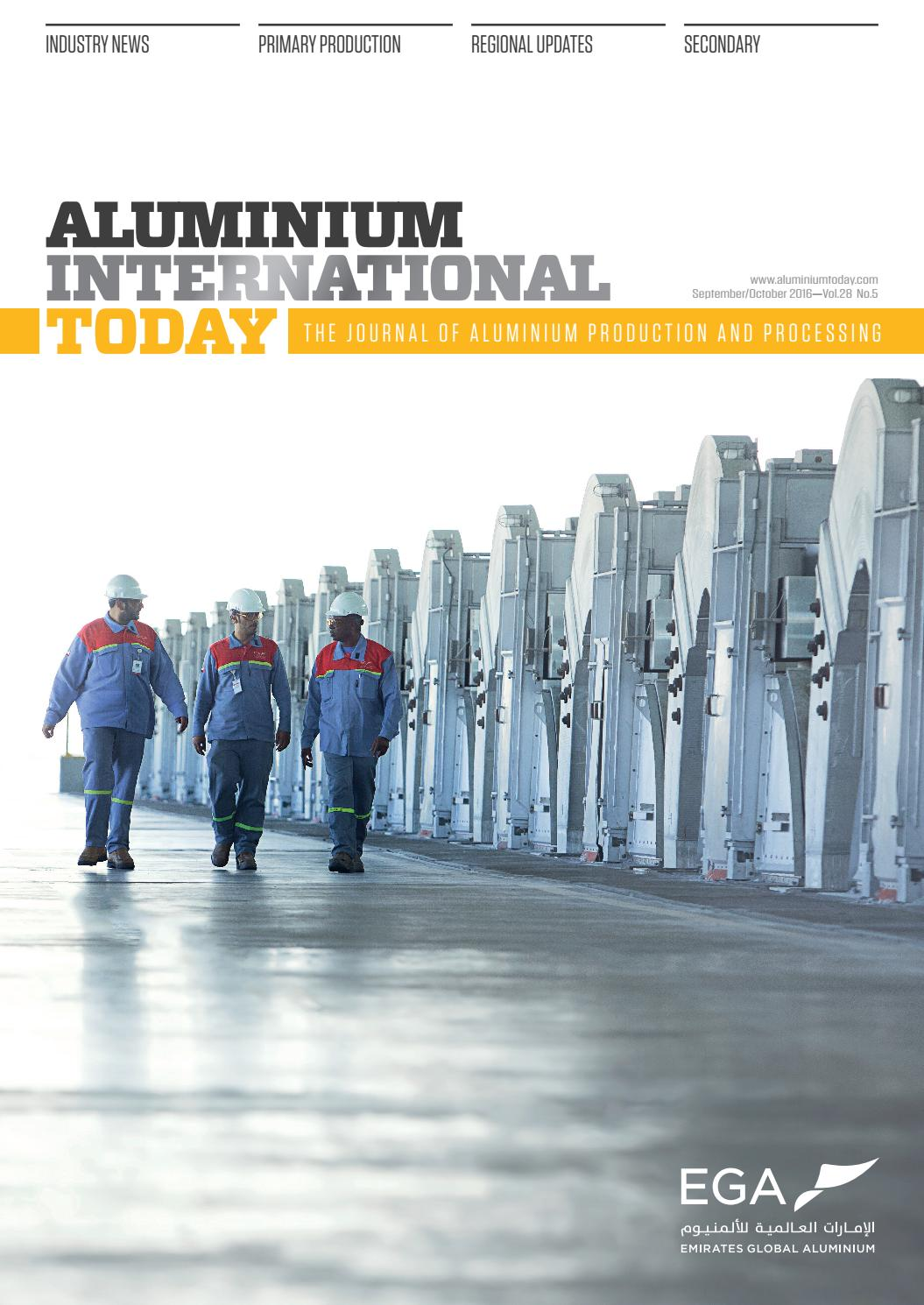 Aluminium International Today Sept Oct 2016 by Quartz - issuu