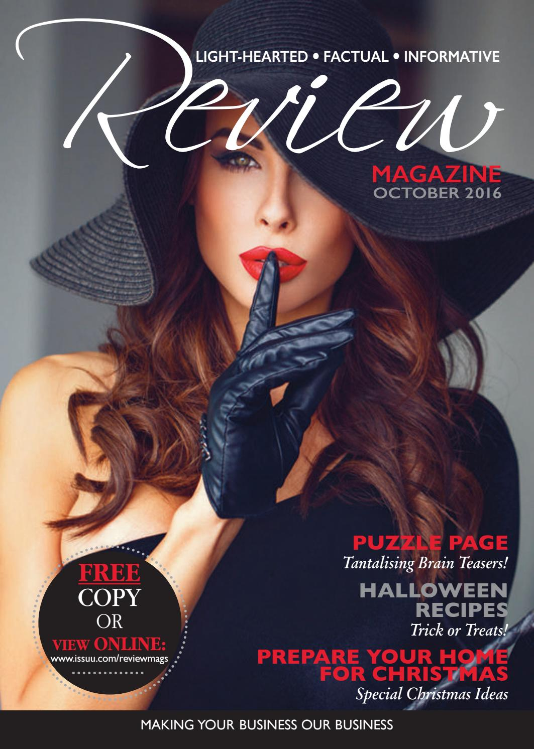 Review Magazine October 2016 By Review Magazines Issuu