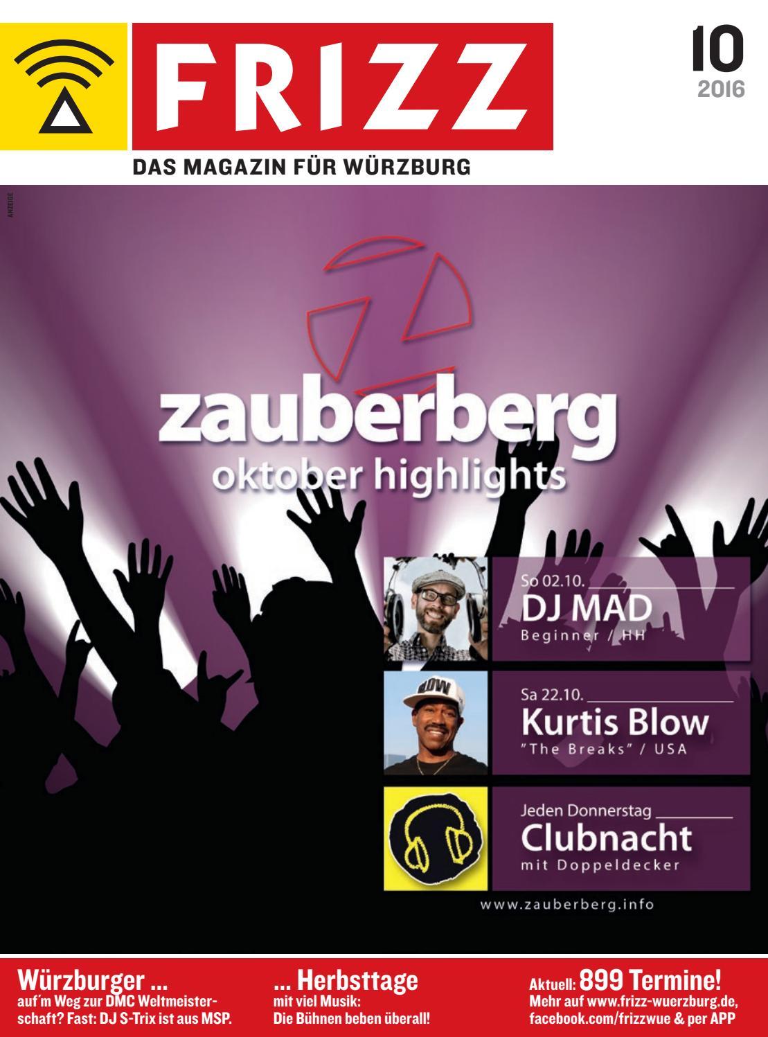 Frizz Das Magazin Fur Wurzburg Oktober 2016 By Frizz Das Magazin