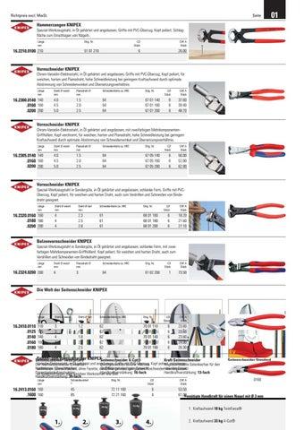KNIPEX 97 49 66 Crimpeinsatz f/ür Solar-Steckverbinder MC4 Multi-Contact