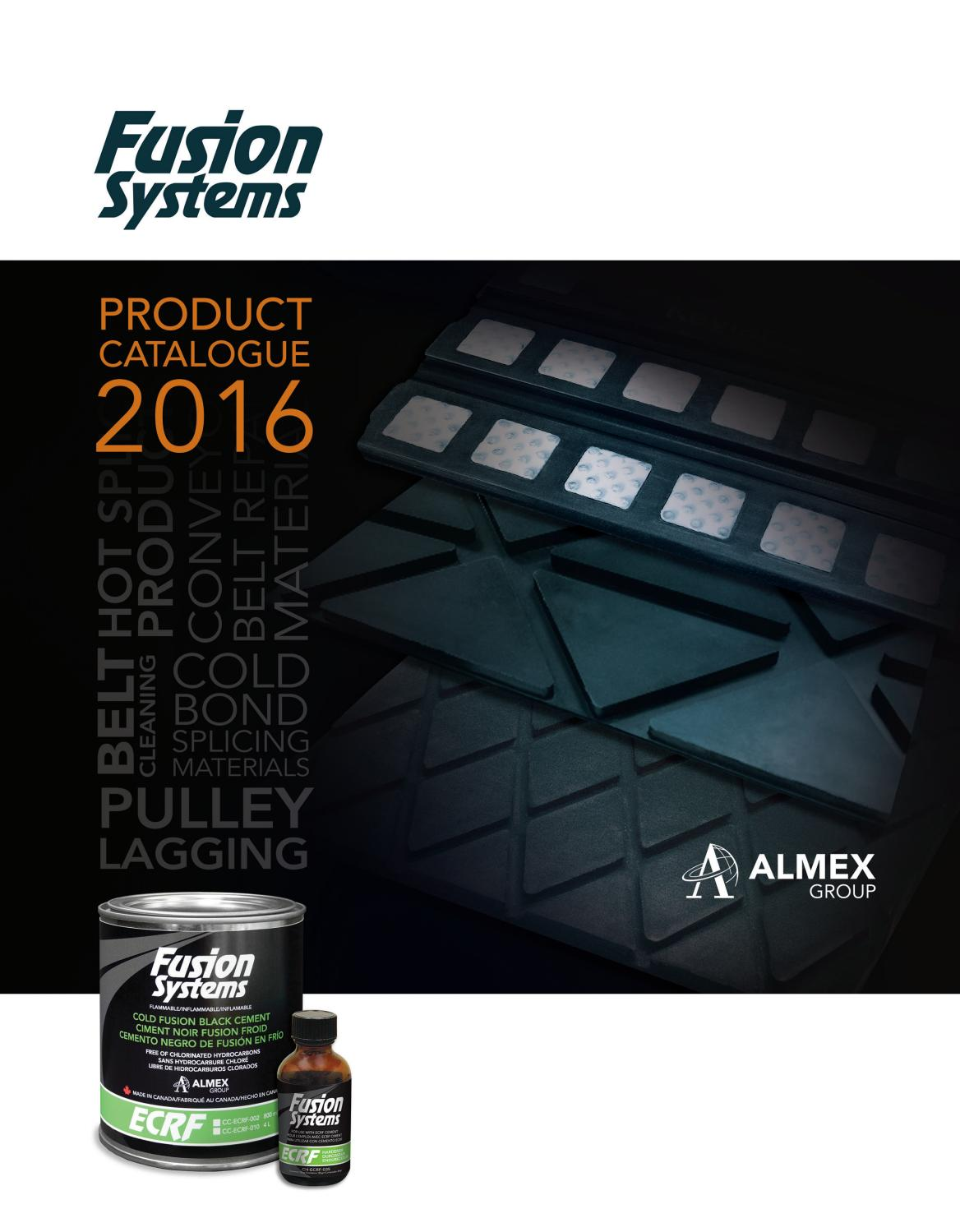 2016 Fusion Catalogue By Almex Group Issuu