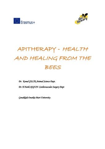 Apitherapy  Health and Healing from the Bees by Janos