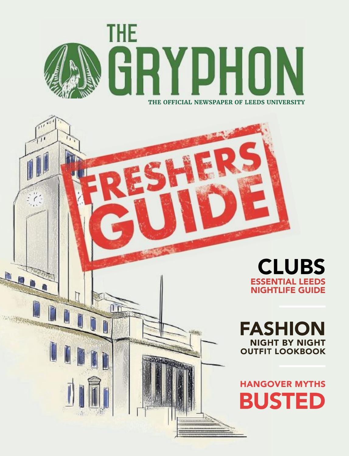 40e84ea5d5 Freshers Guide 2016/17 by The Gryphon - issuu