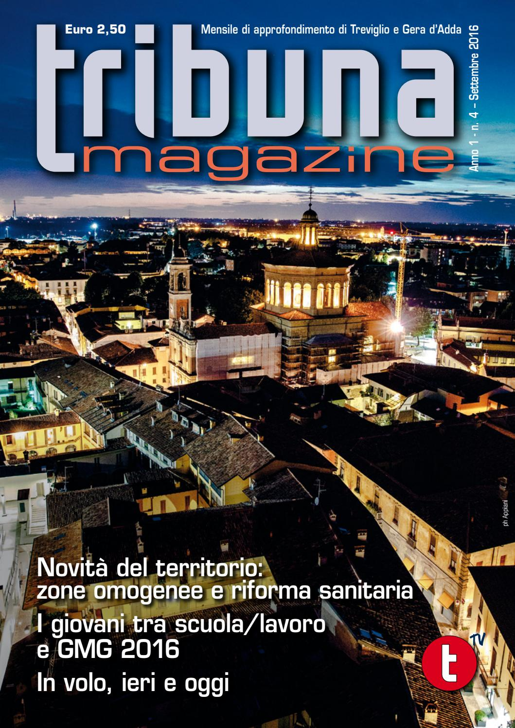 Forma E Colori Treviglio tribuna magazine 2016 09 by lanuovatribuna - issuu