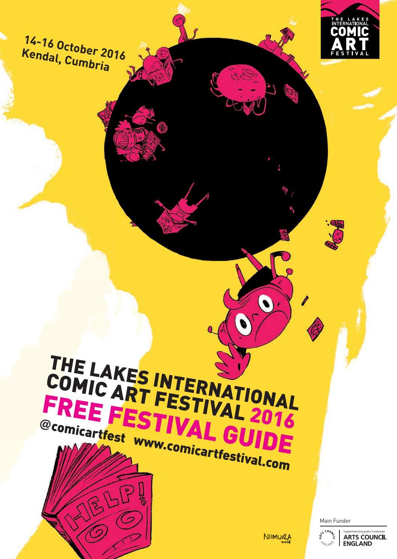 Lakes International Comic Art Festival Programme 2016 By
