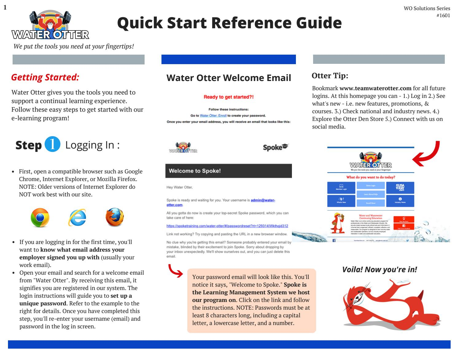 Water Otter Reference Guide by Water Otter - issuu