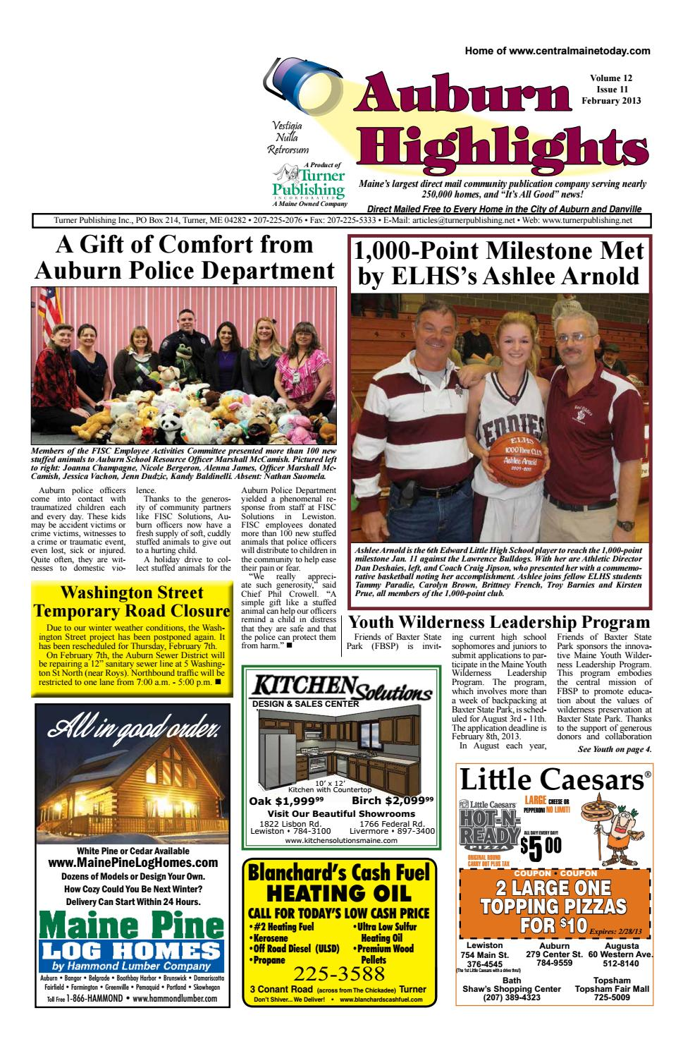 Auburn Highlights February 2013 by Turner Publishing, Inc