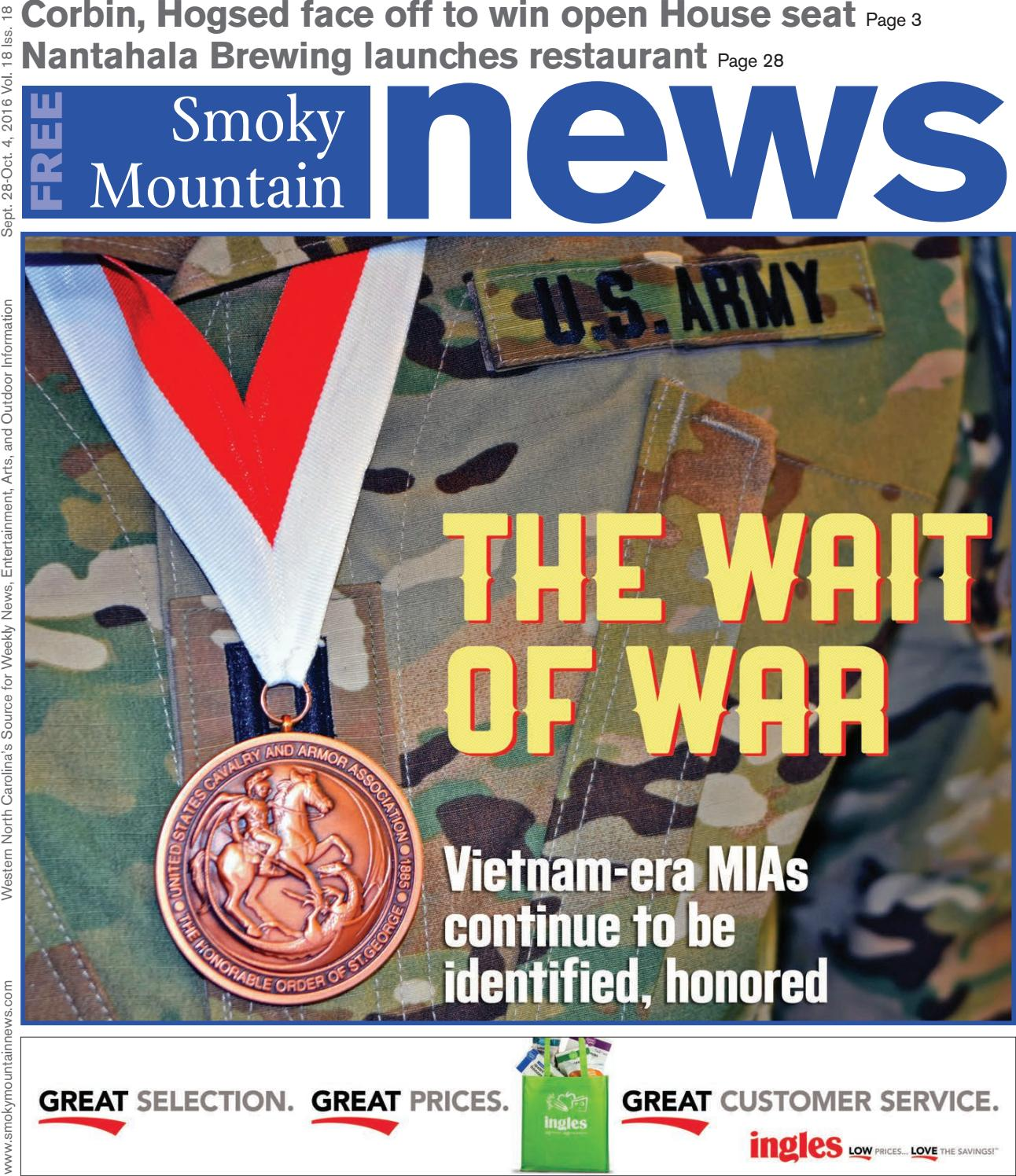 SMN 09 28 16 by Smoky Mountain News - issuu
