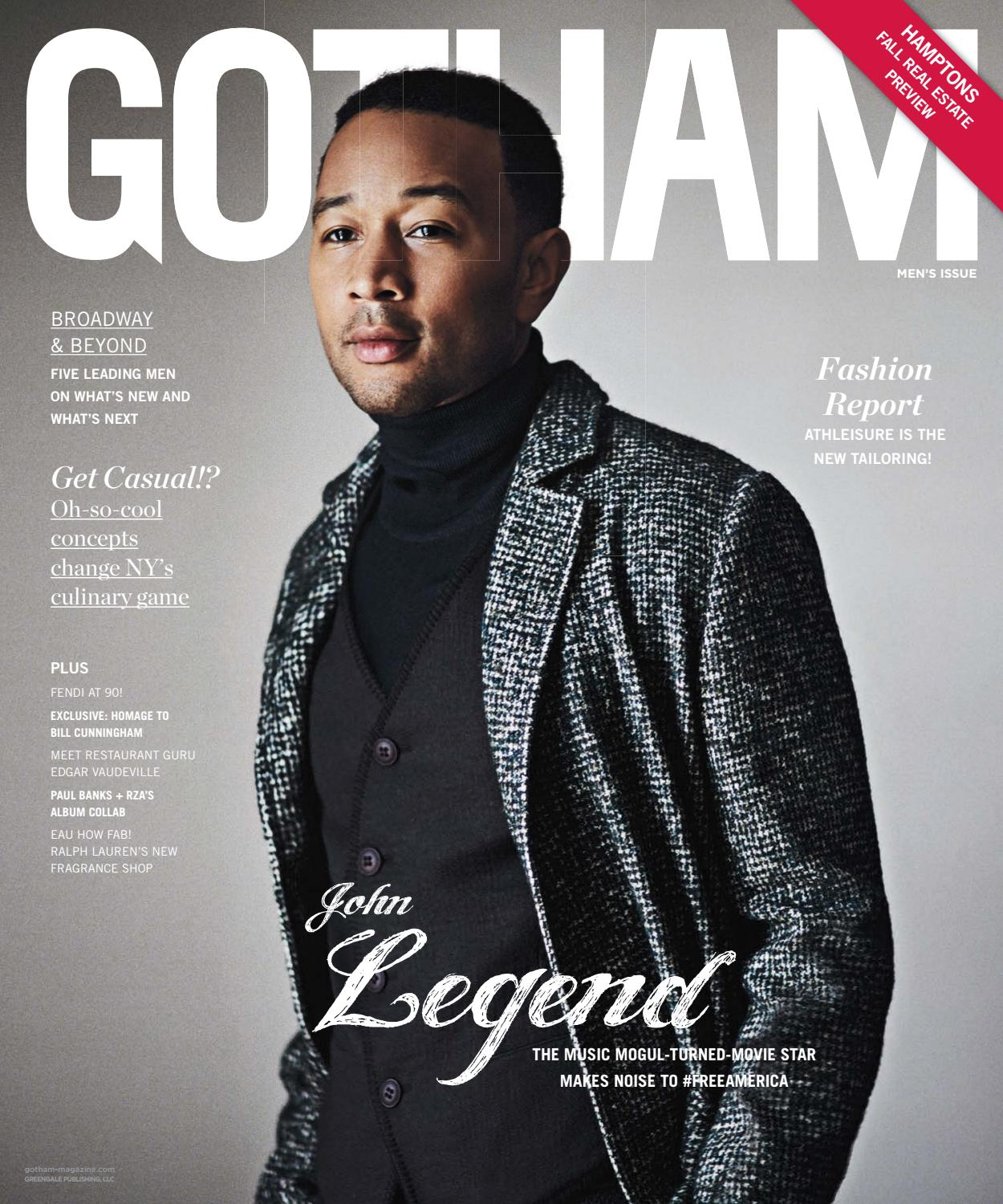 Gotham 2016 Issue 5 Late Fall John Legend By Modern Luxury Polo Milano Central Park Ny Hardcase Travel Luggage Putih Issuu
