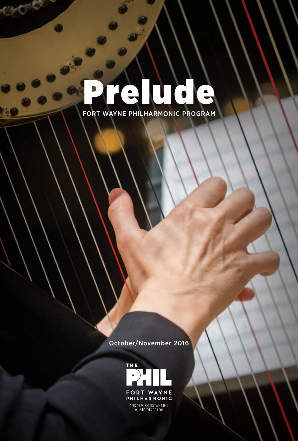 2016 2017 Prelude 1 By Fort Wayne Philharmonic Issuu