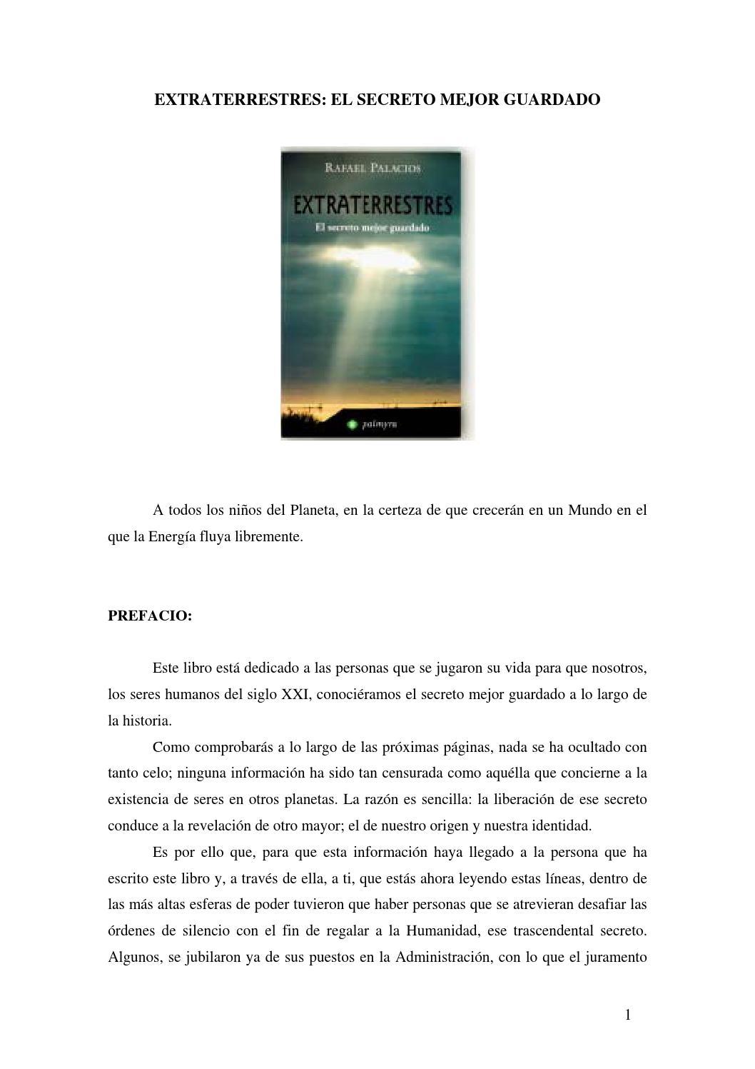 Extraterrestres el secreto mejor guardado rafael palacios by Peter489 -  issuu