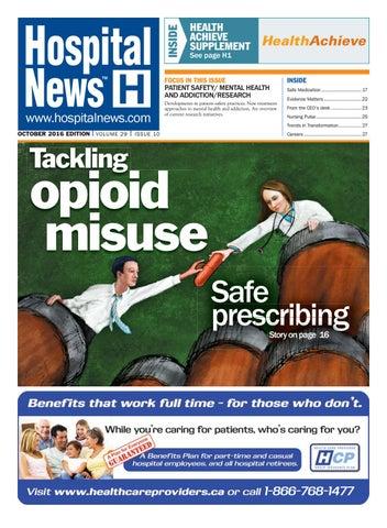 Hospital News 2016 October Edition By Hospital News Issuu