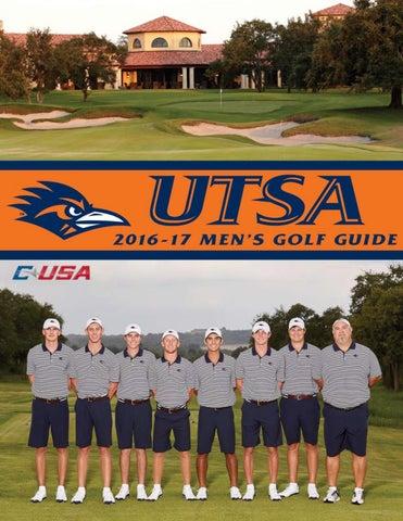 59580d4e6 Ta b l e o f Co n t en t s Introduction. Meet the Roadrunners. UTSA Golf  Courses                           ...