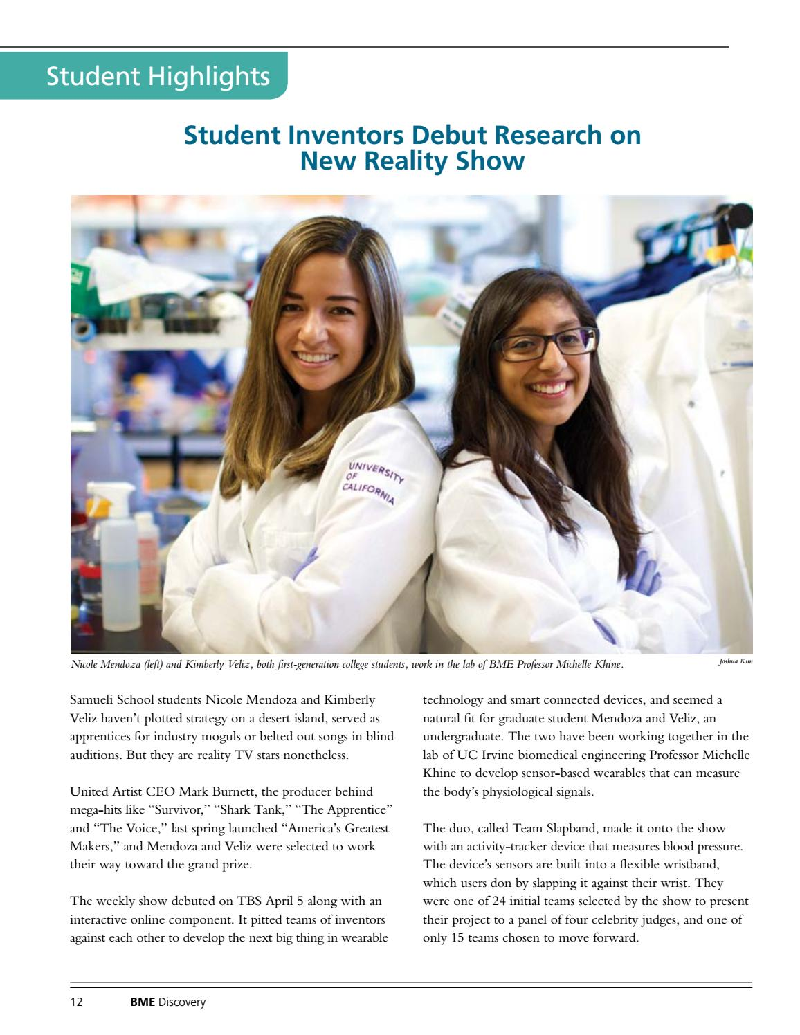 Discovery: UC Irvine Biomedical Engineering Department by UC