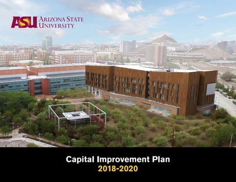 Arizona State University Capital Improvements Plan 2019 – 2021 by ... 1a6d2794f07