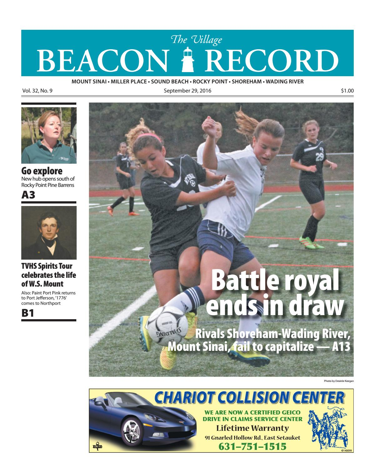 The Village Beacon Record - September 29, 2016 by TBR News