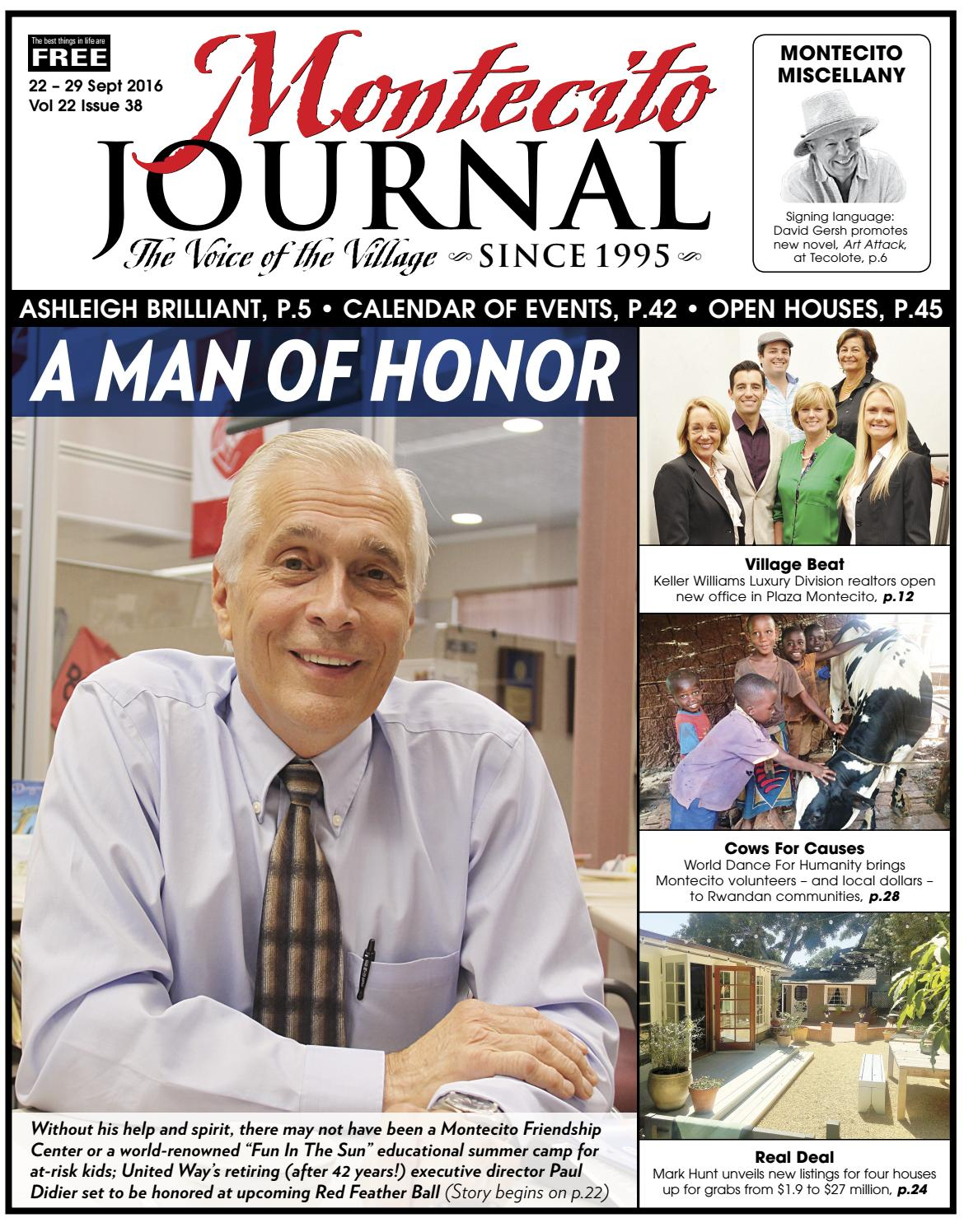 A Man Of Honor By Montecito Journal Issuu
