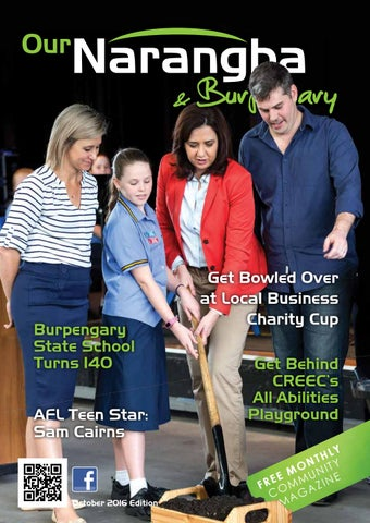 ournarangba amp burpengary magazine october 2016 by feature